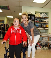 Jennifer Lawrence at Shriners Children's Hospital - August 7