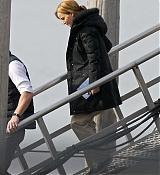 Jennifer Lawrence Filming Joy - April 6