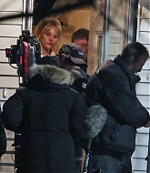 "Jennifer Lawrence Filming ""Joy"" Movie"