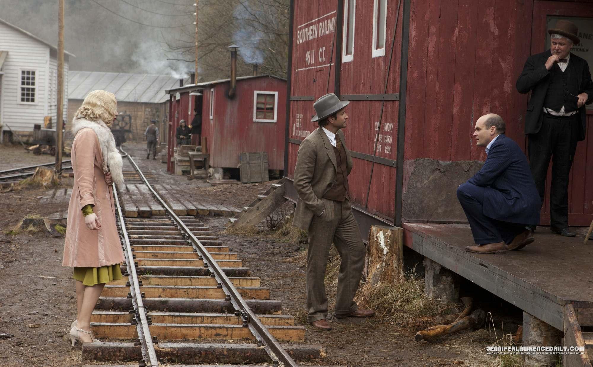 Jennifer Lawrence New 'Serena' Movie Stills