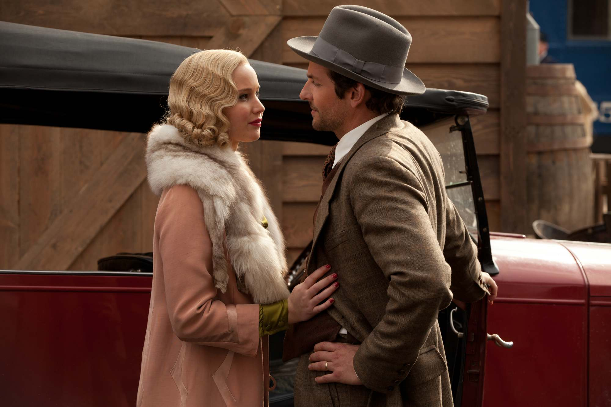 Jennifer Lawrence for 'Serena' Movie Stills