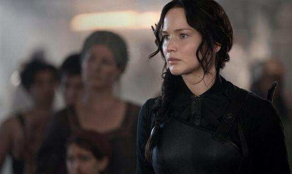 Jennifer Lawrence for Mocking Jay Part 1 Promotional Stills