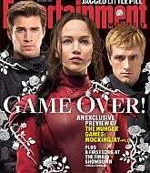 Jennifer Lawrencem, Liam Hemsworth & Josh Hutcherson for Entertainment Weekly Cover