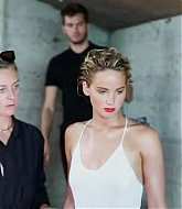 Jennifer Lawrence Vanity Fair Magazine Behind The Scenes Photos